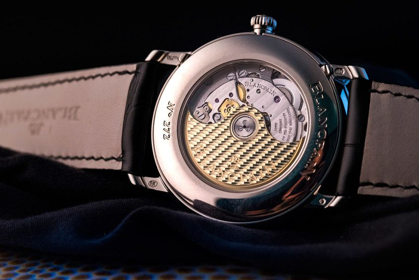 Hands-on With The Blancpain Villeret Annual Calendar with GMT Steel Case Replica