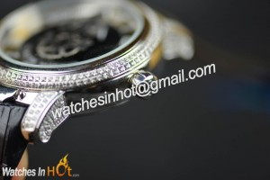 Bezel of Ulysses Nardin Freak Diamond Set Replica Watch Review