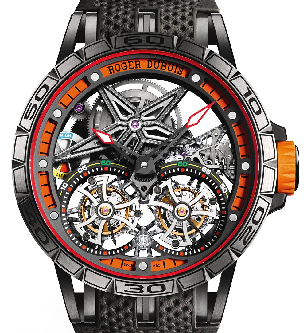 Roger Dubuis Excalibur Spider Double Flying Tourbillon Watch Watch Releases