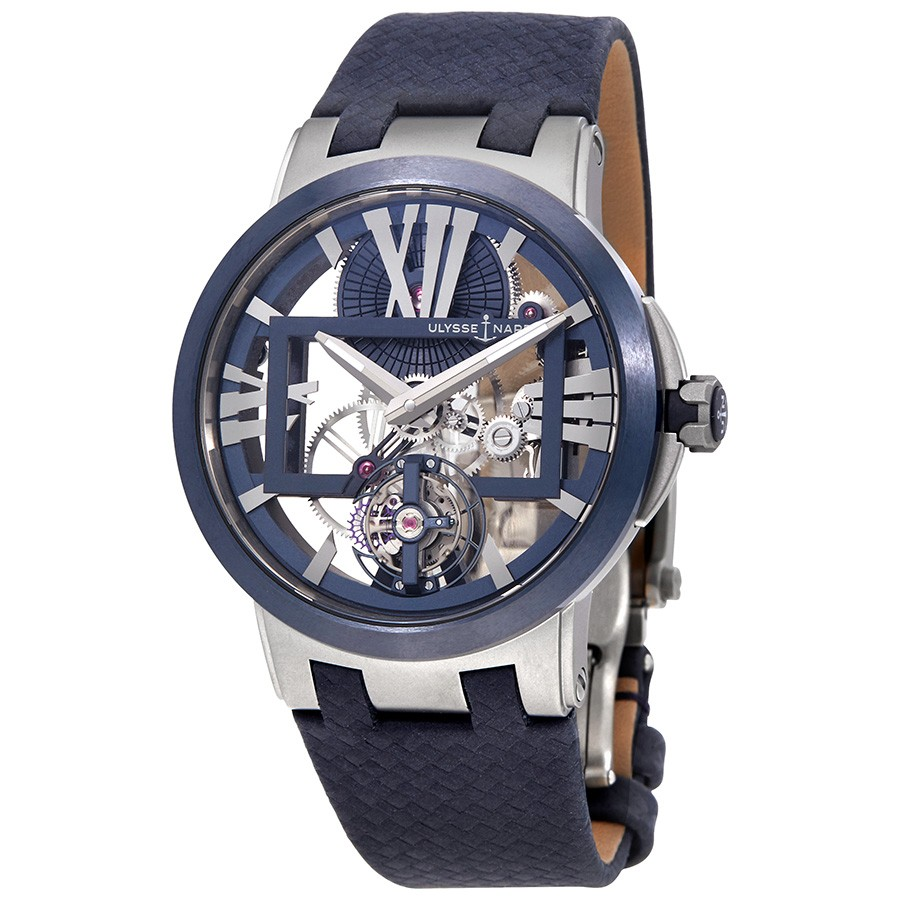 Ulysse Nardin Executive Skeleton Tourbillon Men's Hand Wound Watch 1713-139/43