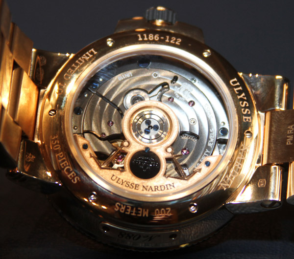 Ulysse Nardin Marine Chronometer Manufacture Watch Hands-On Hands-On Inside the Manufacture