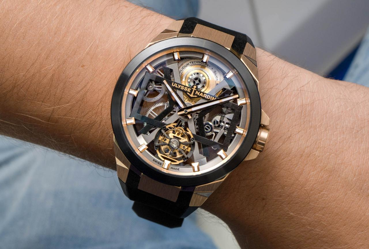 Are You Not Entertained? Ulysse Nardin Blast Tourbillon Replica Watch Collection Hands-On
